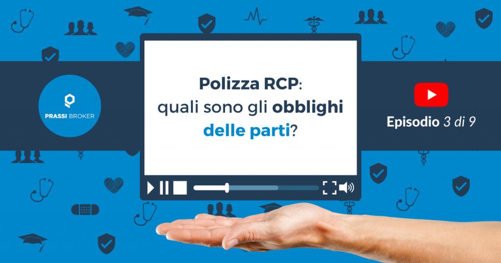 Polizza RCP obblighi